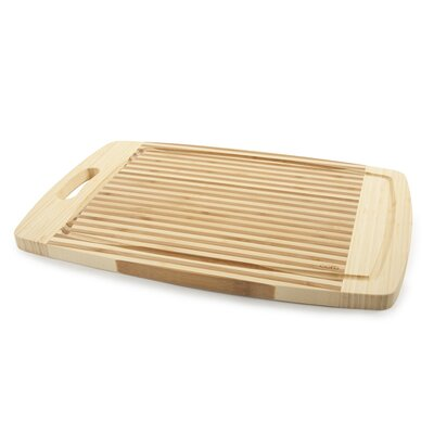 Core Bamboo Tulip Large Cutting Board in Two Tone