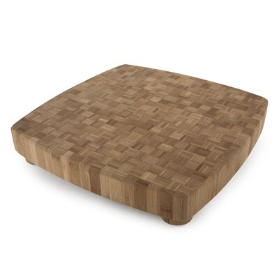 Core Bamboo Pro Chef Lavender Medium Chop Block in Natural