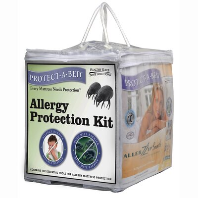 Protect-A-Bed Cotton Allergy Protection Kit