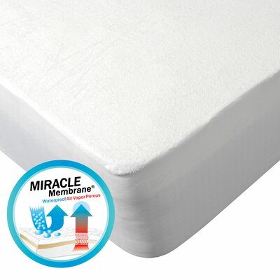 Protect-A-Bed Elite Cotton Double-Sided Waterproof Fitted Sheet Style Mattress Protector