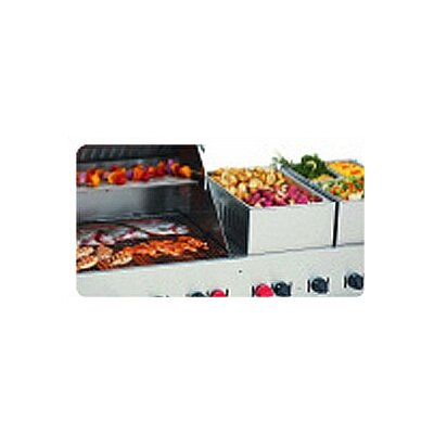 "Crown Verity 72"" Natural Gas Grill On Cart"