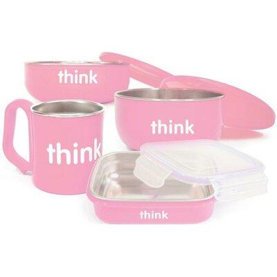 ThinkBaby Complete 4-Piece BPA Free Feeding Set