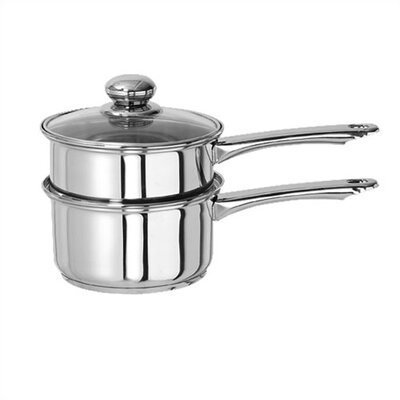 Classicor 2-qt. Stainless Steel Double Boiler with Lid