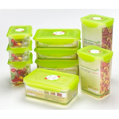 Kinetic Premium 47-oz. Rectangle Food Storage Container Set