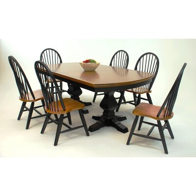 GS Furniture Riverside Dining Table