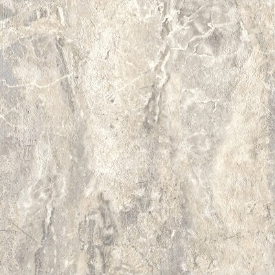 "Congoleum DuraCeramic Roman Elegance 15"" x 15"" Vinyl Tile in Light Greige"