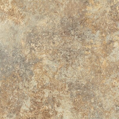 "Congoleum DuraCeramic Rapolano 15"" x 15"" Vinyl Tile in Desert Chimney"
