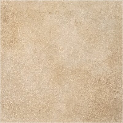 "Congoleum DuraCeramic Earthpath 15"" x 15"" Vinyl Tile in Sandy Clay"