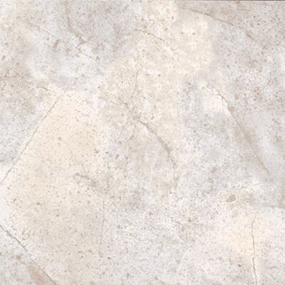 "Congoleum Ovations Sunstone 14"" x 14"" Vinyl Tile in Stone White"