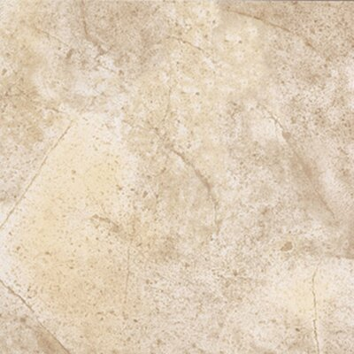 "Congoleum Ovations Sunstone 14"" x 14"" Vinyl Tile in Sun Beige"