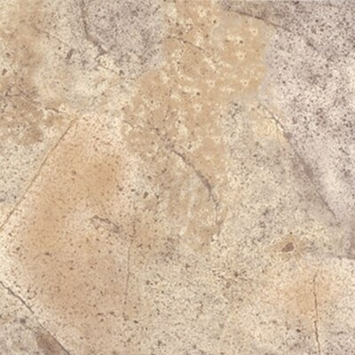 "Congoleum Ovations Sunstone 14"" x 14"" Vinyl Tile in Earthen Brown"
