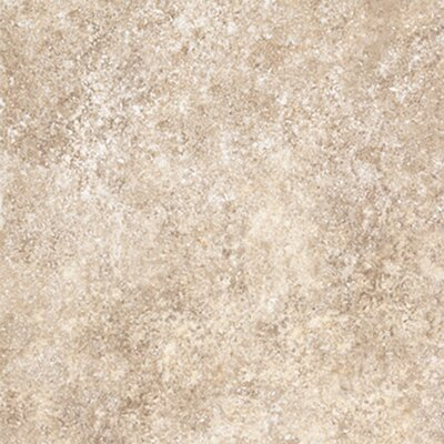 """Congoleum Ovations  Stone Ford 14"""" x 14"""" Vinyl Tile in Almond"""