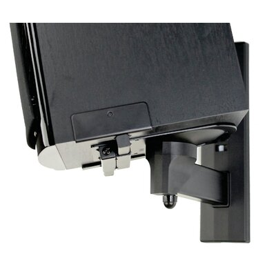 Pinpoint Mounts Side Clamping Bookshelf Speaker Wall Mount Pair