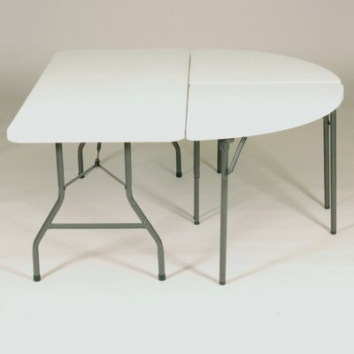 Correll, Inc. Semi Circle Folding Table