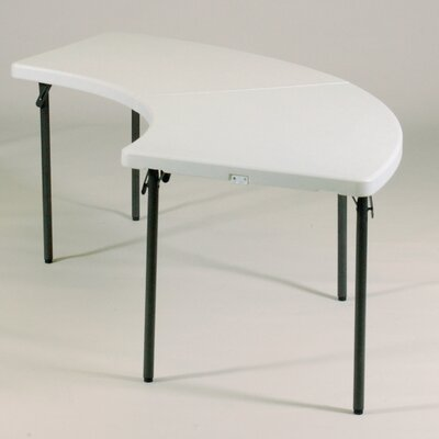 "Correll, Inc. 96"" Semi Circle Folding Table"