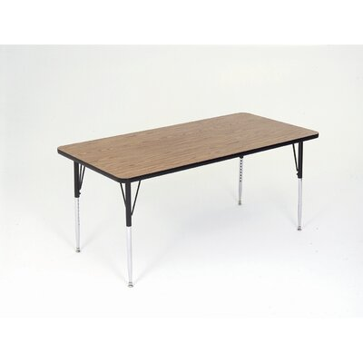 Correll, Inc. Small Rectangular Activity Table with Short Legs