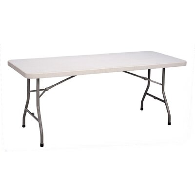 Correll, Inc. Medium Economy Plastic Rectangular Folding Tables