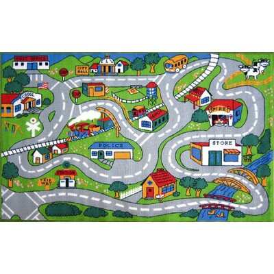 Fun Rugs Fun Time Country Road Kids Rug