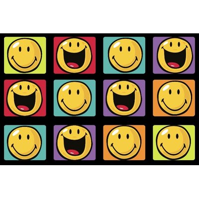 Fun Rugs Smiley World Happy and Smiling Kids Rug