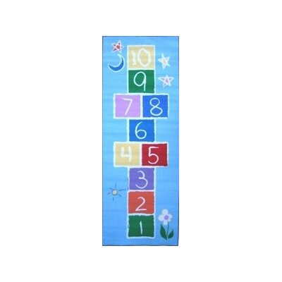 Fun Rugs Fun Time Primary Hopscotch Kids Rug