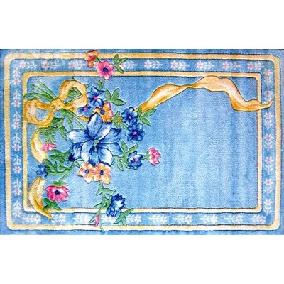 Fun Rugs Supreme Flower Ribbon Kids Rug
