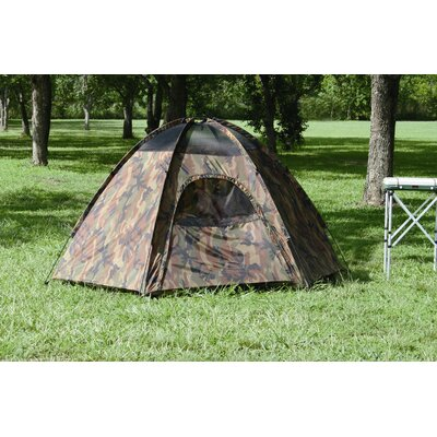 Hexagon Dome Tent in Camouflage
