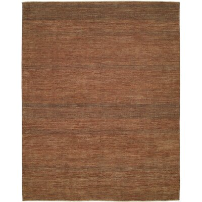 Shalom Brothers Illusions Rust/Dark Green Rug