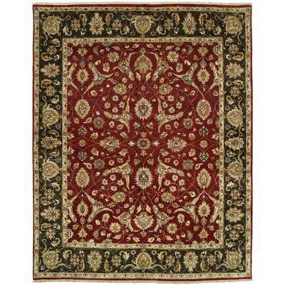 Shalom Brothers Royal Zeigler Red/Black Rug