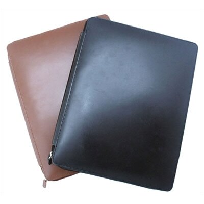 Leatherbay Casual Padfolio in Black