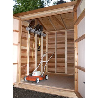 Outdoor Living Today Maximizer 6' W x 6' D Wood Storage Shed