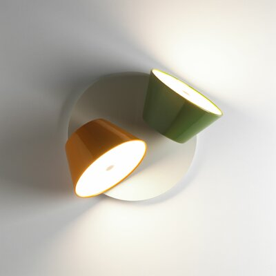 Marset Tam Tam 2 Light Wall Sconce