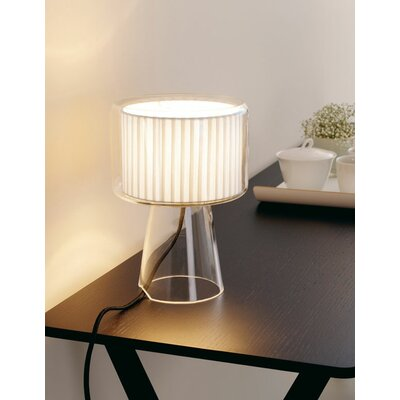 "Marset Mercer M 16"" H Table Lamp with Drum Shade"