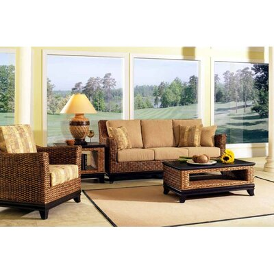 Boca Rattan Biscayne 6 Piece Deep Seating Group with Cushions