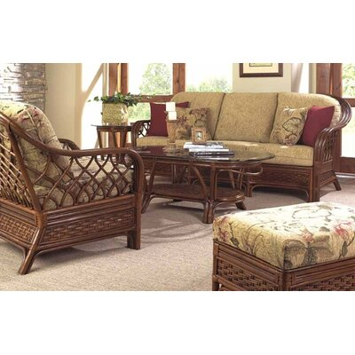Boca Rattan Coco Cay Deep Seating Group with Cushions