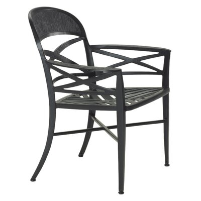 Home Styles Cast Aluminum Rocking Swivel Dining Arm Chair