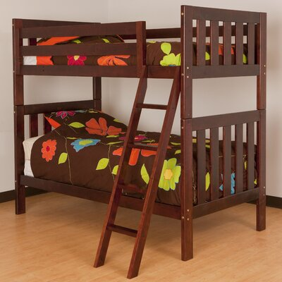 Canwood Furniture Alpine II Twin Bunk Bed with Ladder