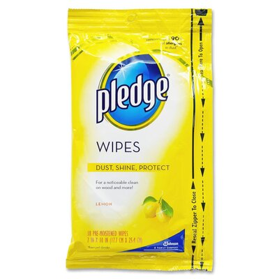 DIVERSEY™ Pledge Furniture Polish Wipes