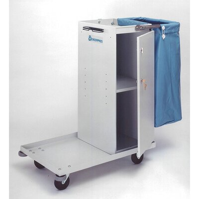 Geerpres® Escort Metal Epoxy Coated Maid's Cart