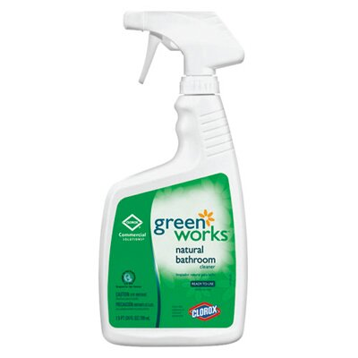 GREENWORKS ® 24 Oz Natural Bathroom Cleaner Bottle