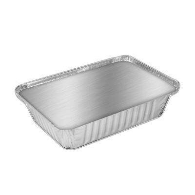 HANDI-FOIL® 36 oz Aluminum Oblong Container with Lid