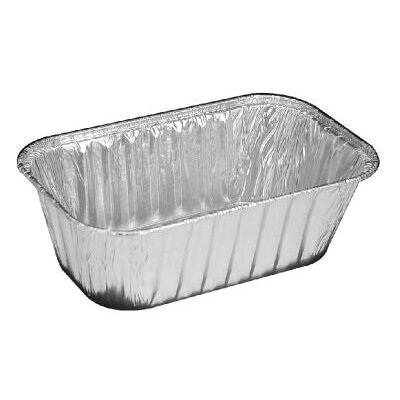 Aluminum Baking Loaf Pan 1 Pound - 200/Case
