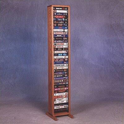 Price Wood Shed 100 Series 40 Vhs Multimedia Storage Rack