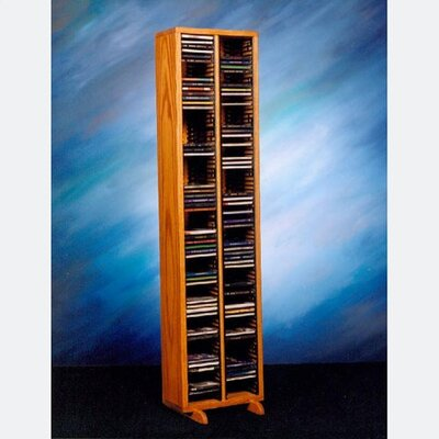 Wood Shed 200 Series 160 CD Multimedia Storage Rack