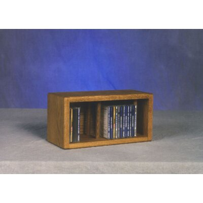 Wood Shed 100 Series 28 CD Multimedia Tabletop Storage Rack