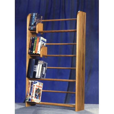 Wood Shed 400 Series 160 DVD Dowel Multimedia Storage Rack