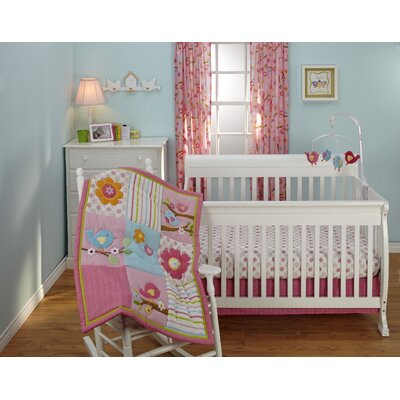 Sweet Lil Birds Crib Bedding Collection