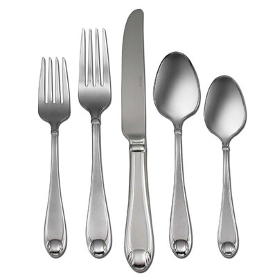 Satin Garnet 65 Piece Formal Flatware Set