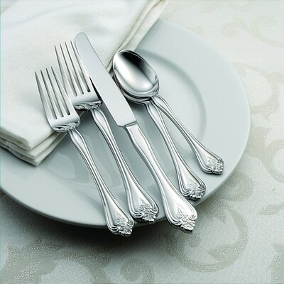 Oneida Boutonniere 45 Piece Everyday Flatware Set