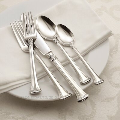 Oneida Apollonia 45 Piece Flatware Set