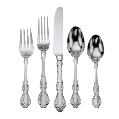 Mandolina 65 Piece Flatware Set